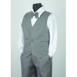 4PC Grey Page Boy Suit