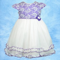 Floral Lace Flowergirl Party Dress
