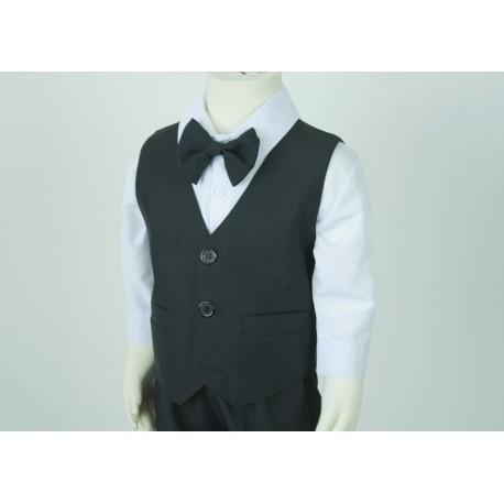 TT9 Black Vest Suit