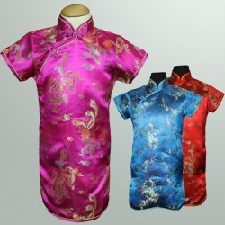 Chinese Oriental Girls Cheongsam Dress