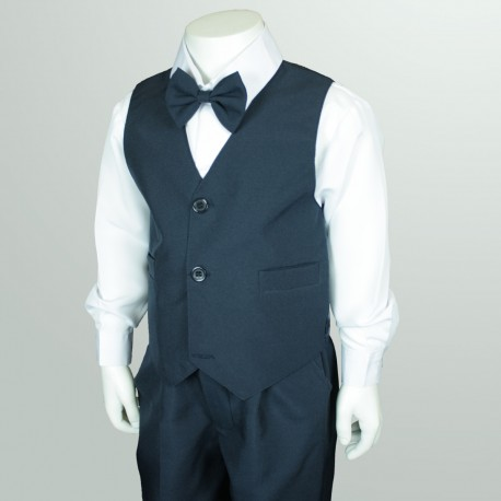 4PC Navy Page Boy Suit
