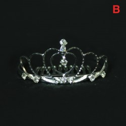 Small Rhinestone Princess Tiara