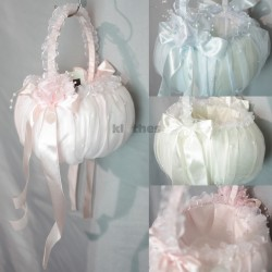 Colour Flowergirl Basket