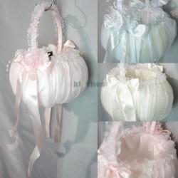 Colour Flowergirl Basket