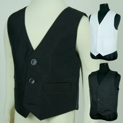 Plain Boys Formal Vest