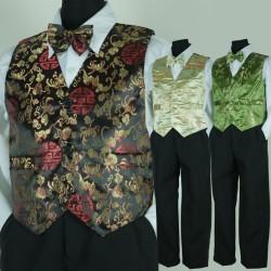 Oriental Page Boy Suit