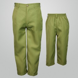 Vintage Khaki Green Dress Pants