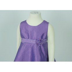 Simple Purple Brown Party Dress