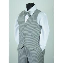 TT51 Houndstooth Vintage Vest Suit
