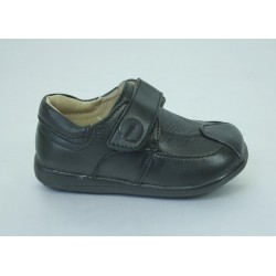 B211 Faux Leather Boys Shoe