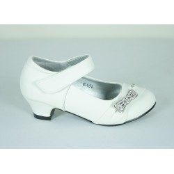 G404 White Formal Shoes