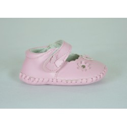 G280 Baby Girls Faux Leather Shoe