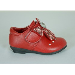 G355 Girls Faux Leather Shoe