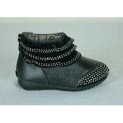 G356 Girls Faux Leather Boots