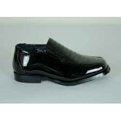B300C Boys Patent Leather Dress Shoes