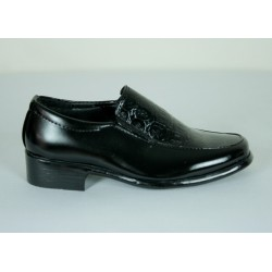 B305 Boys Leather Dress Shoes