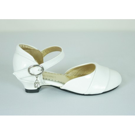 G370 Girls Formal Patent Leather Shoes