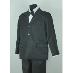 Pinstripe Jacket Suit