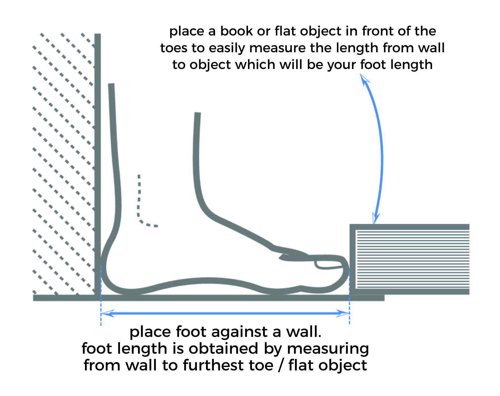Shoe Measurement Diagram